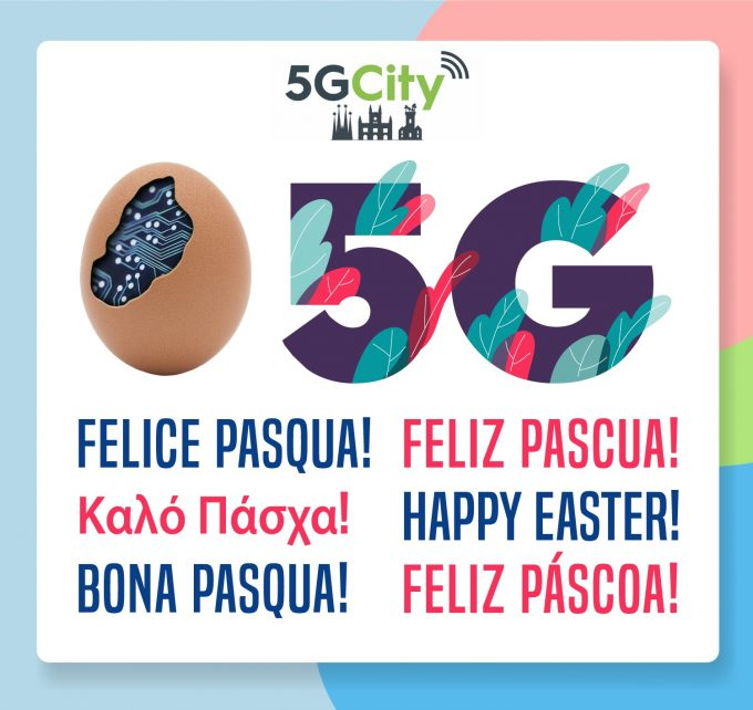 Banner Pasqua 5GCITY